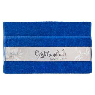 Baumwoll Handtuch Royalblau