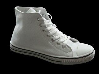 Herren Schuh Weiß